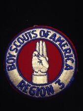 Boy Scouts of America BSA Region 3 Region Three Region III Patch MINT!
