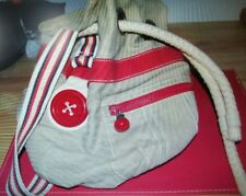 PRE LOVED WOMEN'S MIMCO CANVAS SHOULDER BAG
