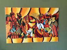 Original Acrylic Cuban Painting
