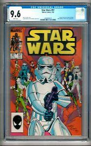 "Star Wars #97 (1985) CGC 9.6 White Pages  Duffy - Martin - Nichols  ""Ackbar"""