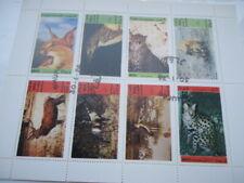 Dhufar Mini Sheet Mint but Franked 1974 Wildlife