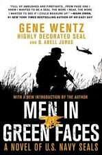 Men in Green Faces : A Novel of U. S. Navy SEALs by B. Abell Jurus and Gene...