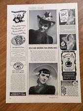 1941 Bali Bra Ad  Light as a Cobweb