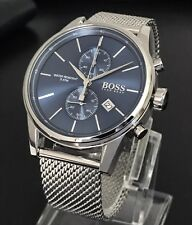 Hugo Boss Jet Men's Blue Dial Chronograph Watch 1513441 Brand New RRP £299
