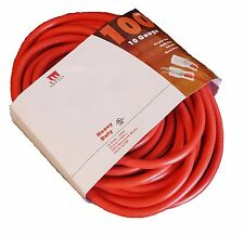 100-Ft 10 Gauge Orange Extension Cord Lit End AWG Contractor UL 10/3 Foot Feet
