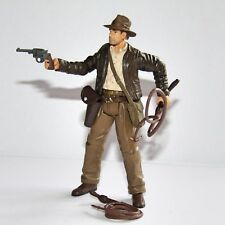 "Película de Indiana Jones (Harrison Ford) 3.75"" Figura de juguete con 2 látigos & Weapon"