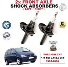 delantero Izquierdo + Derecho Amortiguadores para Ford Galaxy 1.9 TDI 2.0 2.3