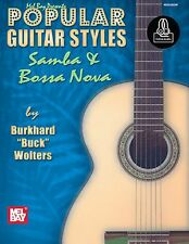 Popular Guitar Styles Samba Bossa Nova Learn to Play Latin Brazilian MUSIC BOOK