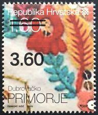 Kroatien Croatia 2019 Nr. 1404 Ethnografisches Erbe Stoffmuster aus Primorje