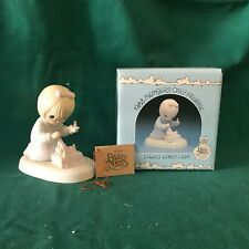 """New ListingPrecious Moments 1983 """"Pm-831"""" """"Dawn'S Early Light"""" New In Box -Mint With Tag"""