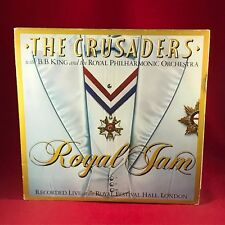 THE CRUSADERS with B. B. KING  Royal Jam live 1982 UK VINYL LP EXCELLENT CONDITI