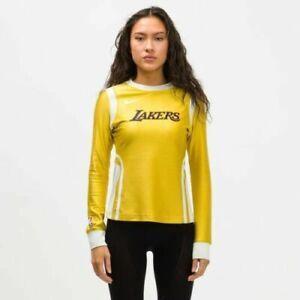 Nike x Ambush NBA Collection Lakers Mineral Gold DB1613-723 Women's Size Small