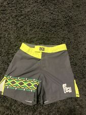 Bow Fight Gear Mma Grappling Shorts Muay Thai Boxing M