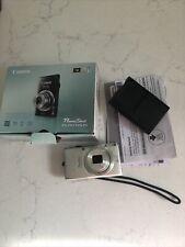 Canon PowerShot ELPH 115 IS  16 MP Digital Camera - Silver