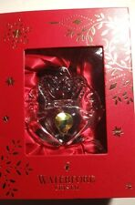 *NEW* Waterford Crystal Christmas Ornament CLADDAGH New in the Box!