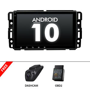 OBD+DVR+For Chevrolet Suburban Tahoe Android 10 Car GPS Navigation Radio Stereo