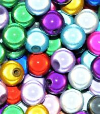 15 pcs acrylic miracle beads, round, 12 mm, option for 17 colours