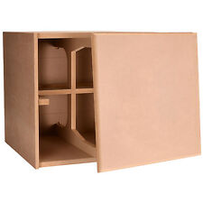 Knock-Down MDF 3.0 cu. ft. Subwoofer Cabinet