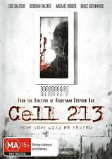 Cell 213 (Original DVD, 2015), Brand new and sealed, free shipping