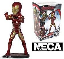 Bobble-head Iron Man Marvel Avengers Age of Ultron Head knocker Neca