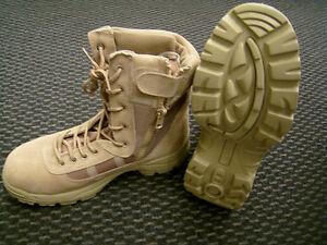 AB Army Stiefel Desert Storm Beige 43-46 Wanderschuhe Outdoor Boots Armeeschuhe