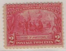 USA 1907 MLH  FOUNDING OF JAMESTOWN 2c CARMINE