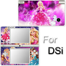 Barbie Charm Fashion Beautiful SKIN DECAL VINYL STICKER COVER for Nintendo DSi