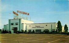 Postcard Stockholm Restaurant Somerville New Jersey NJ Unused