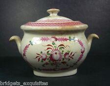 James & Ralph Clews Sugar Bowl Hand Painted Staffordshire England 1813-1827