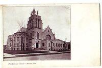 Old MARION Indiana Ind Postcard Presbyterian Church
