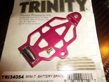TRINITY TRI 34054 fixation de batterie aluminium LOSI MINI-T