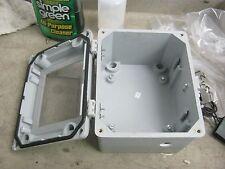 Hoffman Model: A865JFGQRPWR Fiberglass Enclosure <  W