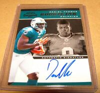 DANIEL THOMAS - 2011 Contenders Rookie Ink SP Autograph Dolphins RC On Card Auto