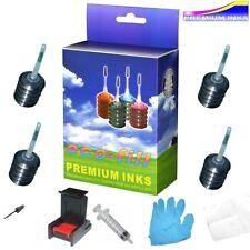 Negro ecofill Canon Pixma Mg 3200 MG3250 mg3255 mg3550 mg4150 mg4250 Kit De Recarga