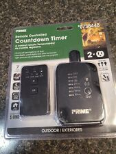 PRIME Outdoor Residential Lighting Countdown Timer Remote Photocell NEW!