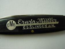 Taschenmesser Erwin Müller Esslingen, pocket knife,couteau de poche, Longerich