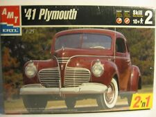 AMT 1941 PLYMOUTH COUPE 1 OF 2 WAYS OPENED OR SEALED SOLD AS IS AND AS USED