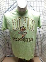 Vintage 80s 90s green single stitch NCAA UNC TARHEELS T SHIRT large USA details