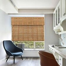 TJ Global Bamboo Roll Up Window Blind Sun Shade, Light Filtering Roller...