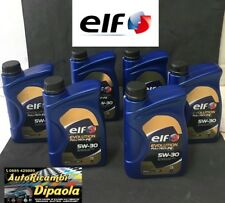 6 LITRI OLIO MOTORE ELF 5W30 EVOLUTION FULL-TECH FE ACEA C4 ORIGINALE RENAULT 6L