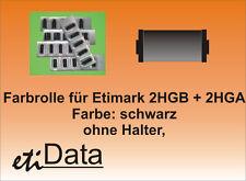 5 Farbrollen f. Preisauszeichner Etimark 2HG-B  2HG-A 2 Zeiler ehem. Schlecker