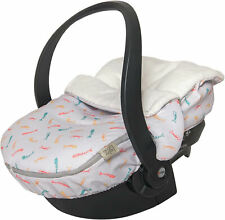 Baby Bites Universal Car Seat Footmuff Padded Sleeping Bag Carseat Maxi Cosy New