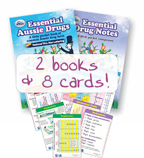 Essential Aussie Drugs - Clinical kit - 2 books & 8 Ref Card pack. (Save $10.90)