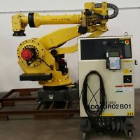 Fanuc M900iA 350 with R30iA Controller -TESTED – LOW HOURS- Complete