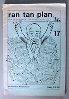 RAN TAN PLAN n°17. 1969/1970. Pif / Auranella / Loro / Crepax. Revue BD. (RC45)