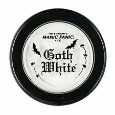 """Manic Panic """"Goth White"""" Powder Cream Foundation-Vegan Paraben free Made in USA."""