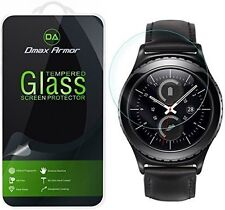 Dmax Armor® Samsung Gear S2 Classic Tempered Glass Screen Protector Saver Shield