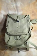WW2 US Army M-1928 Haversack Pack Dated 1942 J. A. Shoe
