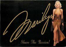 Marilyn Monroe Gold Lame Gown Fastest Rising Star Award Postcard