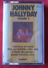 Cassettes audio Johnny Hallyday